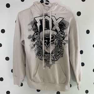 🔥30%OFF🔥Fox hoodie black/white size S